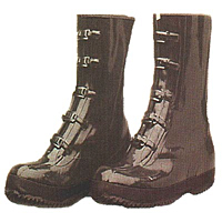 5-Buckle Strap Rubber Bar-Tread Outsole Boots
