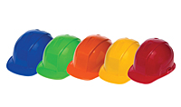 Hard Hat Colors Available