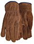 Dark Brown Split Cowhide Driver