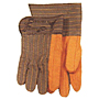 18 oz. Quilted Fleece Striped Back and Cuff, Waterproof Safety Cuff Gloves