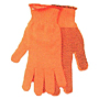 Synthetic Fashion Knit Seamless Reversible Gloves