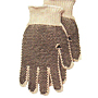Dotted Knit 100% Cotton Standard Weight Gloves