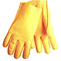 Seam Out Textured Vinyl Coated Slip-on Style Gloves