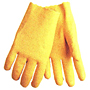 Seamless Textured Vinyl Coated Slip-on Style Interlock Lined Gloves